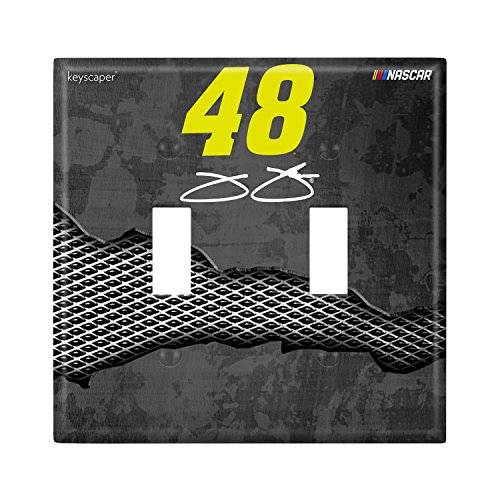 Jimmie Johnson Double Toggle Light Switch Cover NASCAR