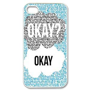 The Fault in Our Stars Okay?okay. phone Case Cover for Apple iPhone 4 4S ART127219