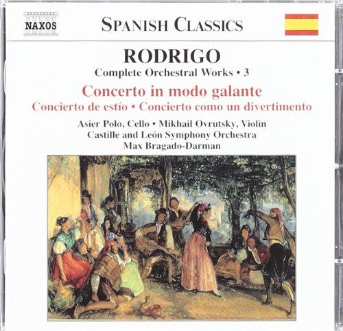 (Rodrigo: Complete Orchestral Works, No.)