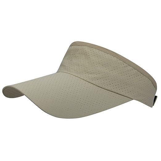 1cc82d8315b88 Mens Summer Quick-Dry Run Long Brim Empty Top Baseball Tennis Sun Hat Cap  Visor