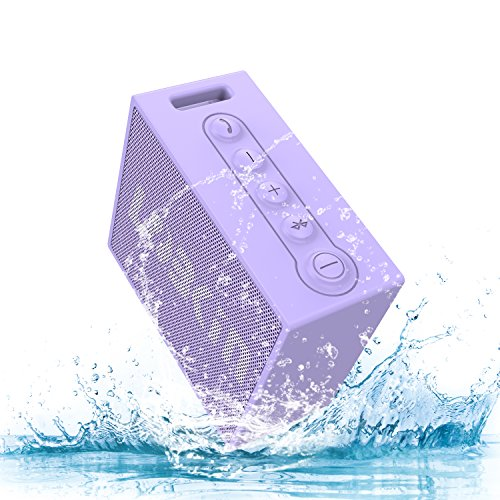 Best Price! Portable Bluetooth V4.2 Speaker ,Lobkin Outdoor Speaker with 5W Driver ,IPX7 Waterproof,...