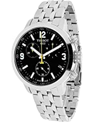 Tissot Mens T0554171105700 PRC200 Analog Display Quartz Silver Watch