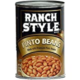Ranch Style Pinto Beans 15 Oz (Pack of 6)