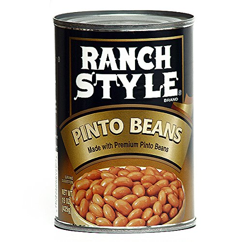 Ranch Style Pinto Beans 15 Oz (Pack of 6) by Ranch Style