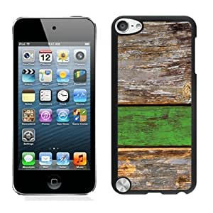 Anti-Glare Film for ipod touch (5th Gen)-home/Shop_ipod/ipod_accessories/Case/,Old Green Wood Texture ipod touch 5 Case Black Cover