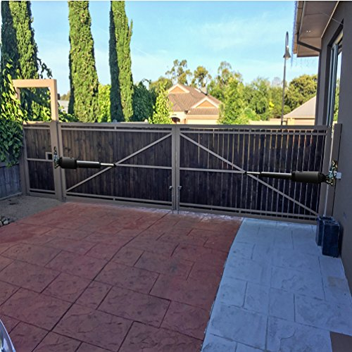 """TOPENS PW502 Automatic Gate Opener for Medium Duty Dual Swing Gate Up to 550lbs or 16 feet Each Leaf, Extra """"Push to Open"""" Bracket Included by TOPENS (Image #5)"""