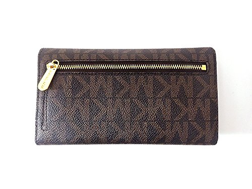 4b04752e5d4a SHOPUS | Michael Kors Jet Set Travel Large Trifold Leather Wallet ...