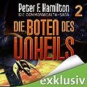 Die Boten des Unheils (Die Commonwealth-Saga 2) Audiobook by Peter F. Hamilton Narrated by Oliver Siebeck