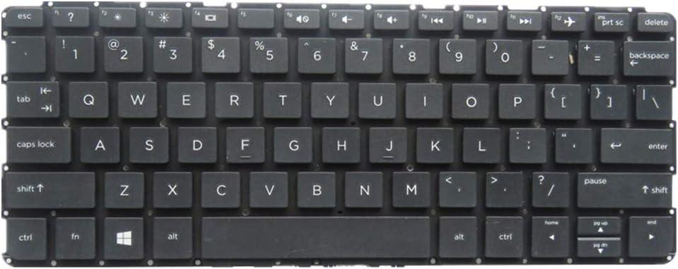 FQ Teclado portátil para HP ProBook x360 11 G1 EE Negro ...