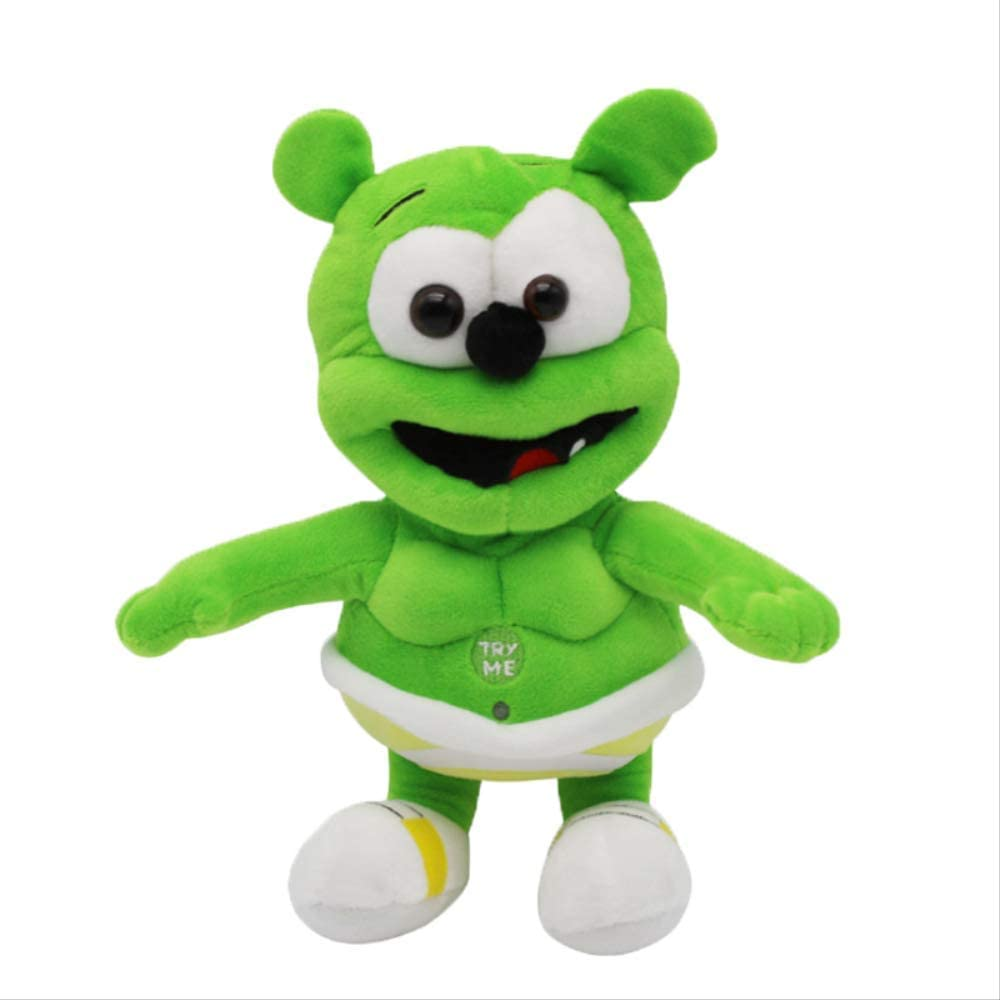 Yzhome 30 Cm Gummy Bear Voice Pet Plush Dolls Baby Singing Toys Funny Doll For Children Best Gifts Plush Pillow Couple Dolls