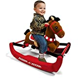 Radio Flyer Soft Rock and Bounce Pony with Sound Radio Flyer