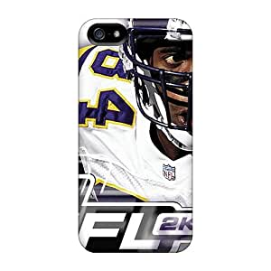 Iphone 5/5s TSq4276hHVu Support Personal Customs Attractive Oakland Raiders Skin High Quality Cell-phone Hard Cover -KerryParsons