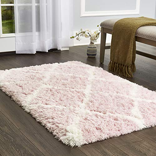 Home Dynamix Casey Shag Rug by Nicole Miller | High Pile Shaggy, Soft Texture, Subtle Shade | Luxurious Indoor Shag, Low Maintenance, Fade and Stain Resistant