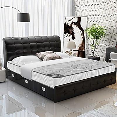 Nexttechnology Mattress 152x203x20 Memory Foam Mattress Home House Sleeping Mattress Pad for Luxury Home Use
