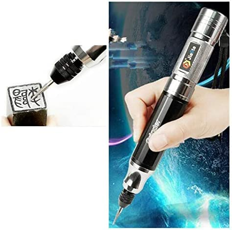 Rechargeable Mini Handheld Carve Tool for DIY Jewellery Jewelry Polishing Jade Wood Metal Glass Leather Ceramic Plastic Grinding Tool Electric Engraving Engraver Pen