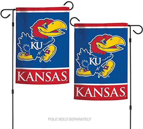 "WinCraft NCAA University of Kansas Jayhawks 12.5"" x 18"" Inch"