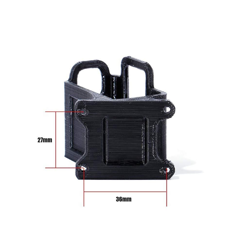 6//7 Session RC FPV Drohne Luccase Schwarz TPU-Filament Bedruckt Halterung iFlight 3D gedruckte Kamerahalterung Kompatibel mit Go Pro Hero5