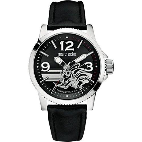 Marc Ecko Reloj Analógico para Hombre de Cuarzo con Correa en Caucho E09506G1: Amazon.es: Relojes