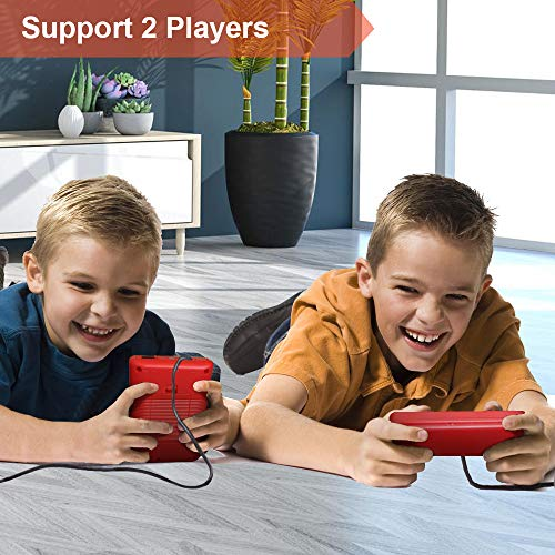 TrophyRak Handheld Game Console, Retro Mini Game Console, 500 Classical FC Games, Built-in 800mAh Rechargeable Battery…