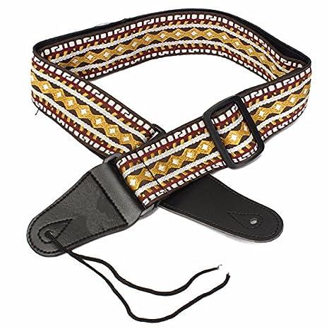 kenthia Woven Retro Folk Style banda ajustable cinturón de correa ...