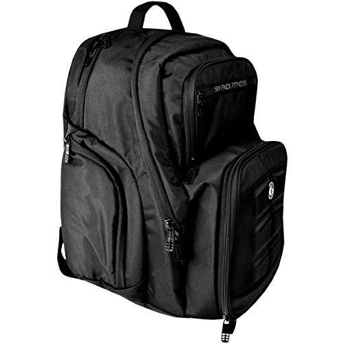 6 Pack Fitness Expedition 300 Stealth Black Bag BLACK by 6 Pack Fitness (Image #1)