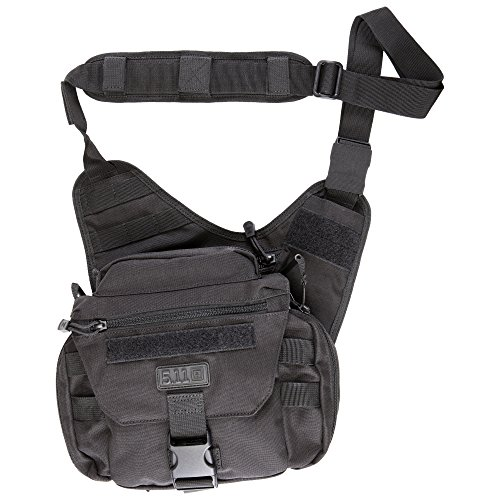 5.11 Tactical PUSH Pack, Utility Sling Bag for Responders, Style 56037, Black