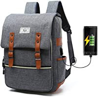 Unisex College Bag Fits up to 15.6'' Laptop Casual Rucksack Waterproof School Backpack Daypacks...