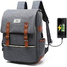 Unisex College Bag Fits up to 15.6'' Laptop Casual Rucksack Waterproof School Backpack Daypacks...