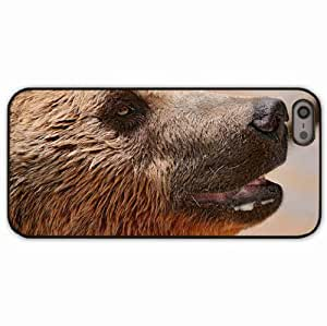 iPhone 5 5S Black Hardshell Case muzzle drool Desin Images Protector Back Cover
