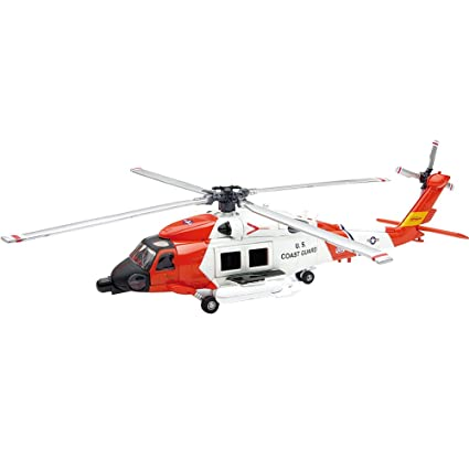 Sikorsky Hh 60 J (Us Coastguard) Diecast Model Aircraft by New Ray Toys Inc.