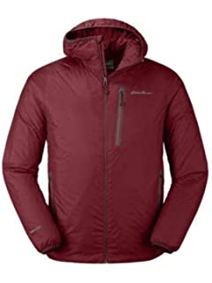 9b6f1a61d23 Eddie Bauer Men's EverTherm Down Hooded Jacket at Amazon Men's Clothing  store: