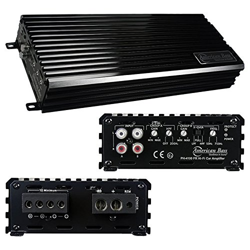 4000w Max Class D Amplifiers Car Stereo Amplifier For Sound