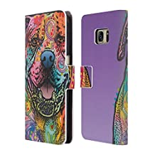 Official Dean Russo Biddie Dogs 3 Leather Book Wallet Case Cover For Samsung Galaxy S4 I9500