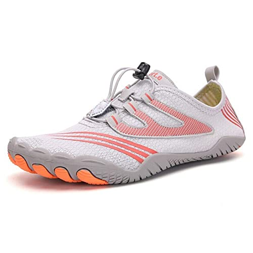 Semdero Unisex Water Shoes Sports Quick Dry Zero Drop Comfortable And Breathable Multifunction Aqua Sports Shoes For Swimming Walking Diving Surfing Beach Pool Yoga Grey Buy Online At Low Prices In India