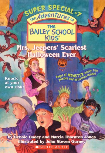 Mrs. Jeepers' Scariest Halloween Ever (Turtleback School & Library Binding Edition) (Adventures of the Bailey School Kids Super Special (Pb)) ()
