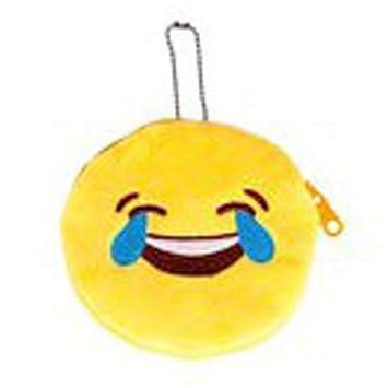 Les Trésors De Lily Q3079 Porte Monnaie Emoji Mort De Rire