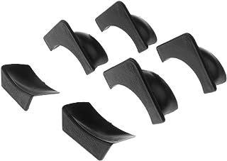 Sharplace Set di 6 Foderi per Tasche per Biliardo Sostitutivi in Plastica - 4 Angolari E 2 Laterali