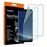 Spigen Galaxy S8 Screen Protector NeoFlex/2 Pack/Case Friendly/Wet Application for Samsung Galaxy S8