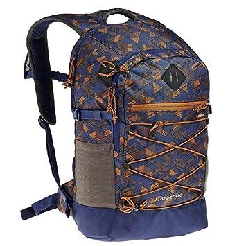 DECATHLON QUECHUA ESCAPE 22 días TREKKING Mochila azul/marrón: Amazon.es: Deportes y aire libre