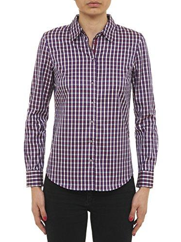 - Robert Graham Bowerie - L/S Woven Shirt Bordeaux Medium