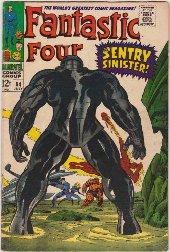 Fantastic Four #64 Silver Age Marvel Comic