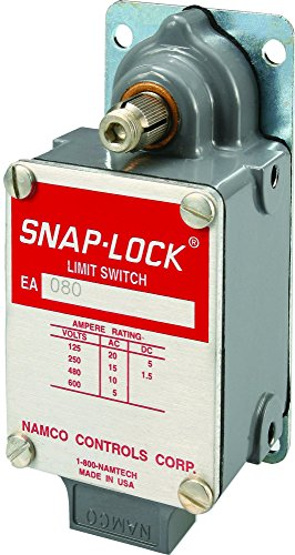NAMCO EA080-11100 Single Pole Limit Switch, Long Mounted with Clockwise Rotation, Snap-Lock technology for heavy duty & rugged applications, part # EA080-11100 ()