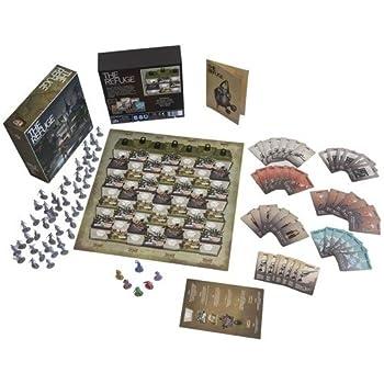 Amazon Com B Amp B Games Studio The Refuge Survival Board