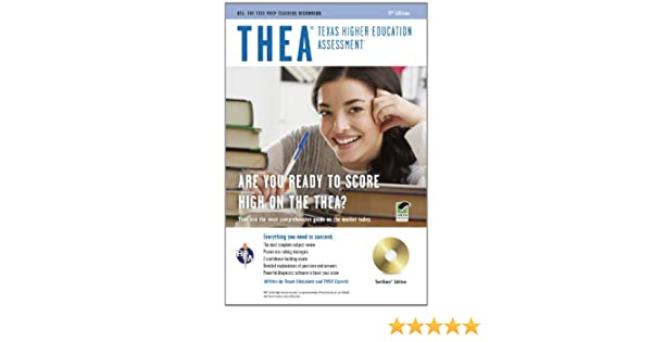 THEA (Texas Higher Education Assessment) w/CD-ROM 9th Ed. (THEA ...