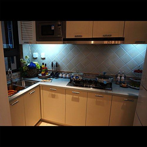 Kitchen under cabinet led light barplug in under counter lighting alide kitchen under cabinet led light barplug in under counter lighting 24inchwarm 3000k cool daylight aloadofball Choice Image