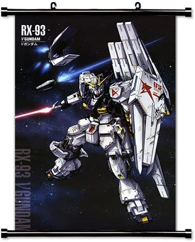 Amazon Com Mobile Suit Gundam Chars Counterattack Anime Fabric Wall Scroll Poster 32 X 49 Inches Wp Gundam Chars 21 L Posters Prints