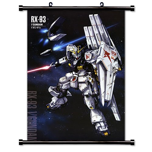 Mobile Suit Gundam Chars Counterattack Anime Fabric Wall Scr