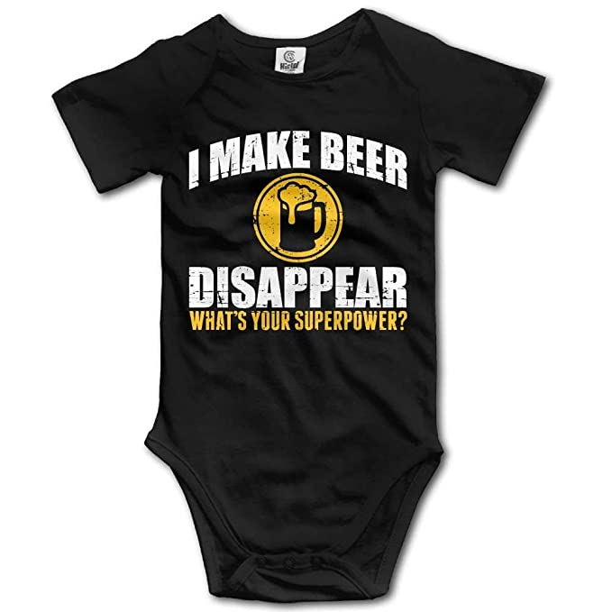 Baby Bodysuits juiceTshirts Whats Your Superpower Bodysuits Romper Short Sleeved Light Onesies