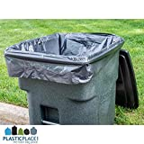 Plasticplace 95-96 Gallon Garbage Can Liners