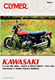 z1 900 - 1973-1981 Kawasaki 900 & 1000cc Fours CLYMER MANUAL KAW 900 & 1000CCFOURS 73-81